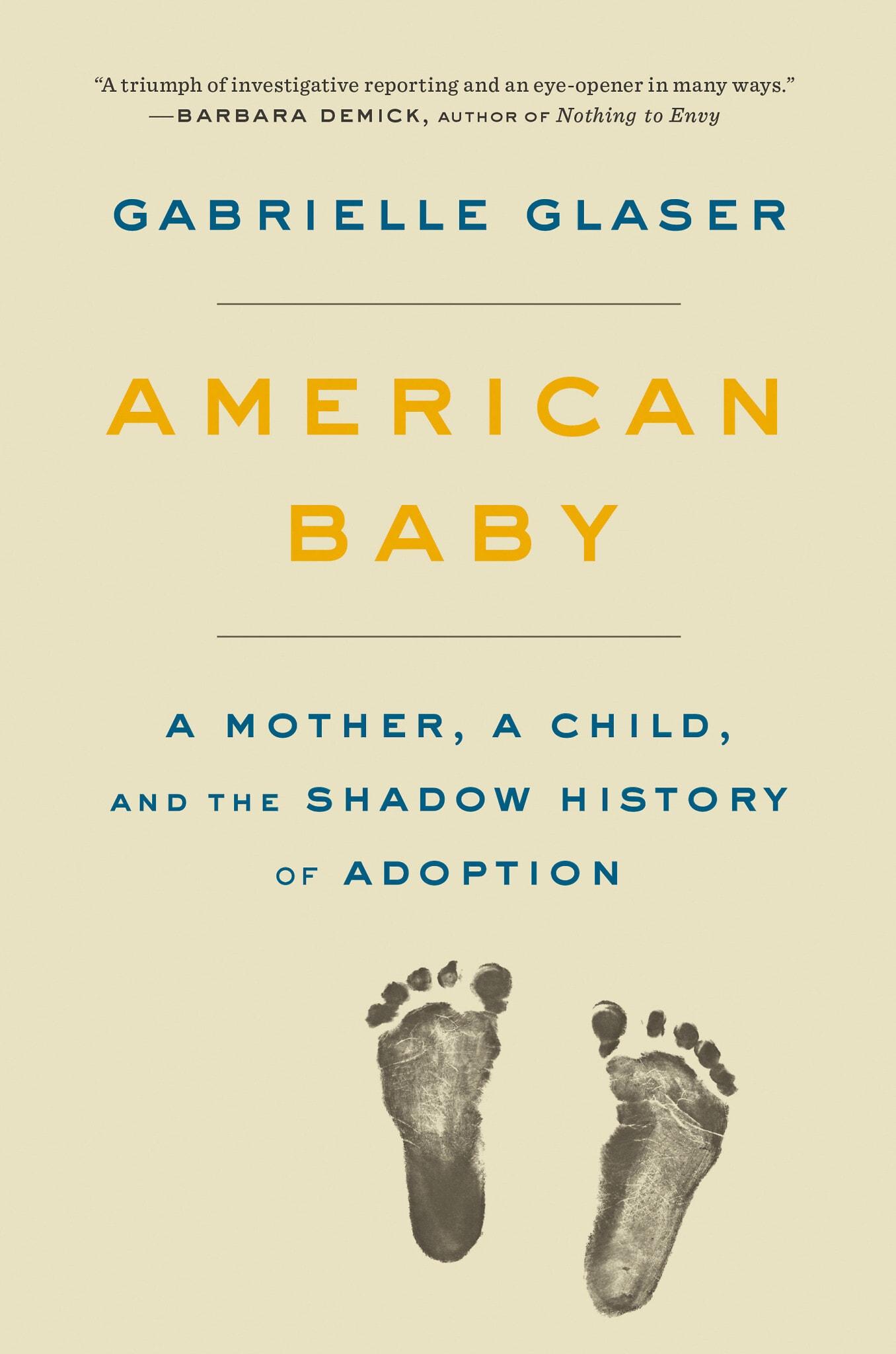 עטיפת הספר American Baby מאת גבריאל גלזר