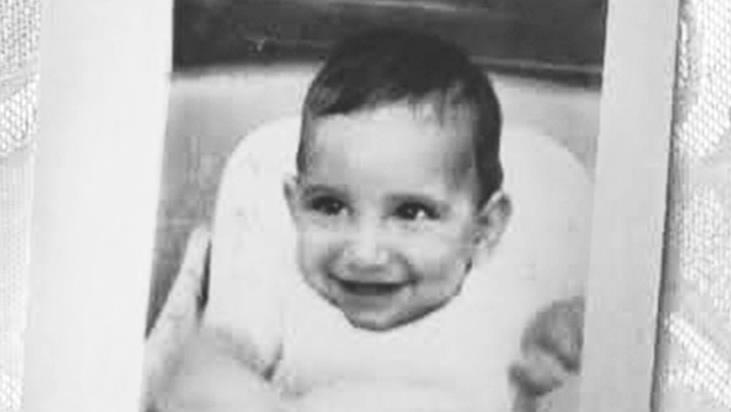 סטיבן מארק ארל (מאוחר יותר דיוויד רוזנברג) כשהיה תינוק, 1961 (צילום: באדיבות מרגרט ארל כץ)