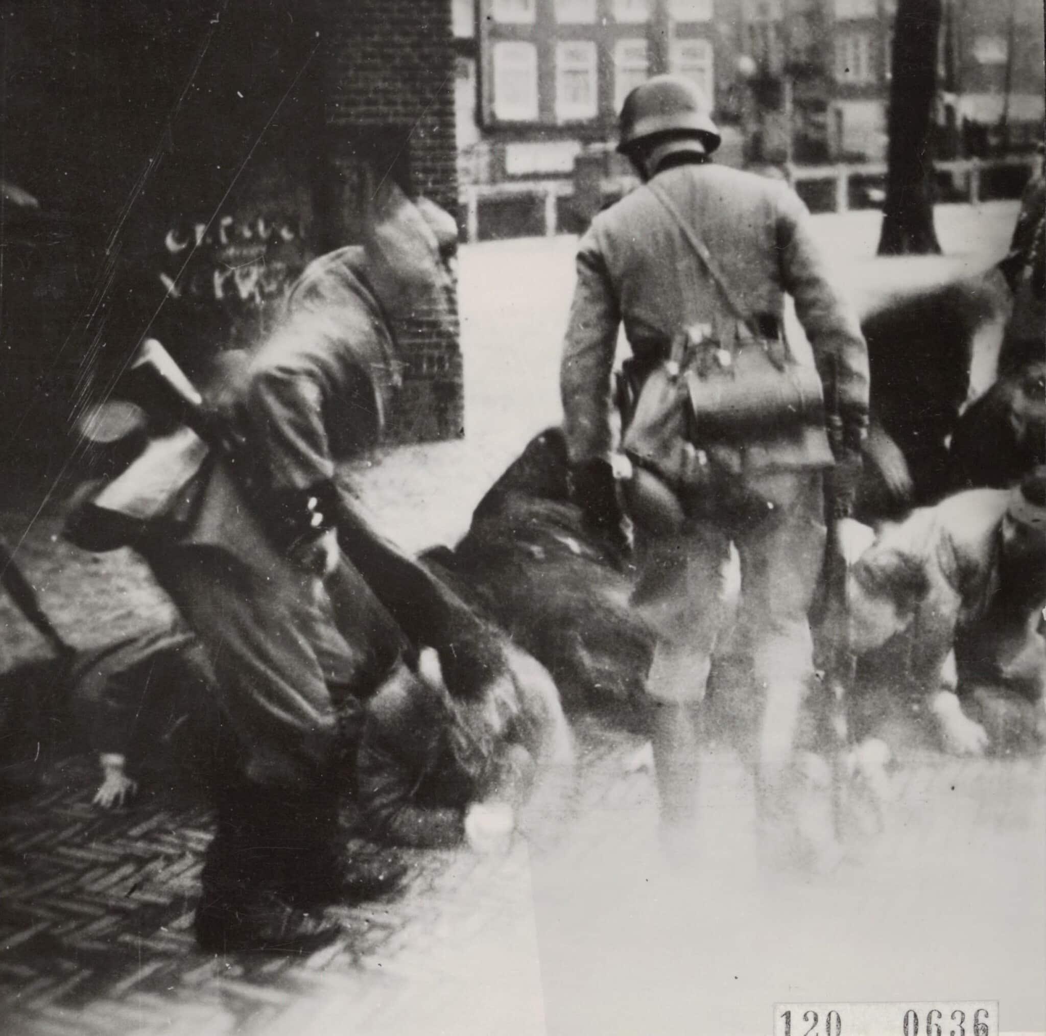 הפרוגרום ברובע היהודי באמסטרדם, פברואר 1941