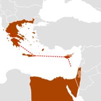 המסלול המתוכנן של צינור איסטמד (צילום: ויקיפדיה)