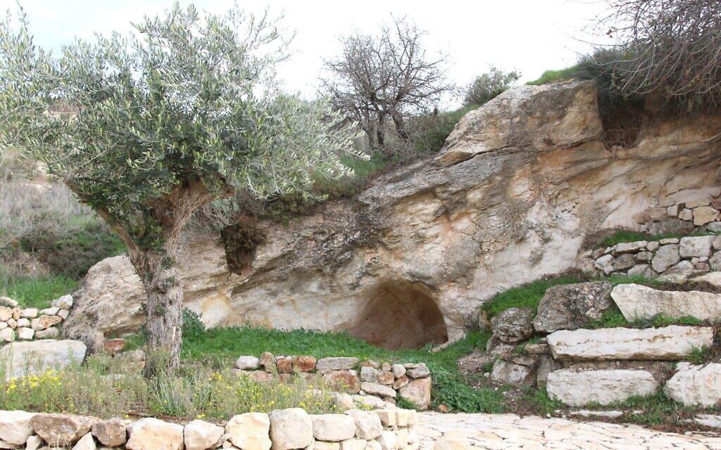 הנוף הנשקף בהליכה בעמק צורים (צילום: אביבה ושמואל בר-עם)