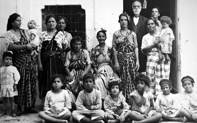 יהודים בלוב לפני מלחמת העולם השנייה (צילום: JIMENA)