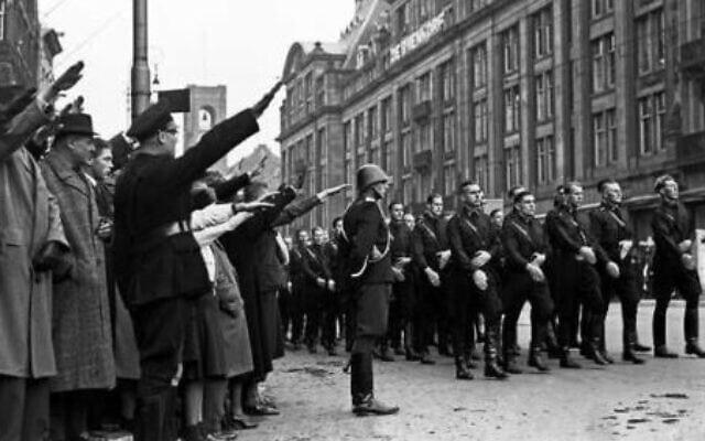 תהלוכה נאצית באמסטרדם
