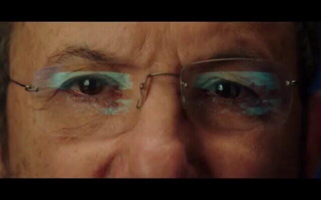 """אהוד ברק, צילום מסך מתוך """"מה היה קורה אילו"""""""