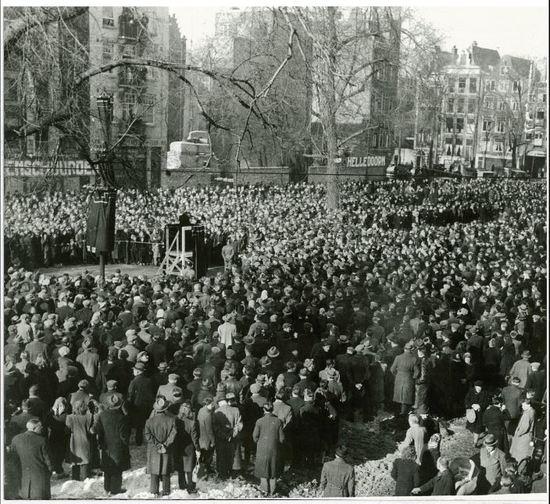 מחאת פברואר באמסטרדם, פברואר 1941