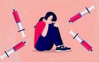 פחד מחיסונים. אילוסטרציה (צילום: iStock)