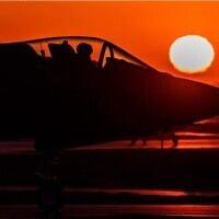 מטוס אדיר של חיל האוויר רגע לפני המראה. מקור: חשבון האינסטגרם של חיל האויר