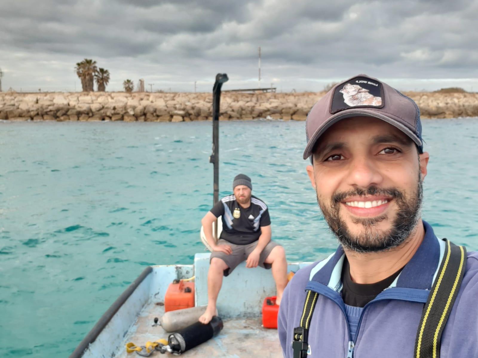 סמי אלעלי מאגוד הדייגים (צילום: עומר שרביט)