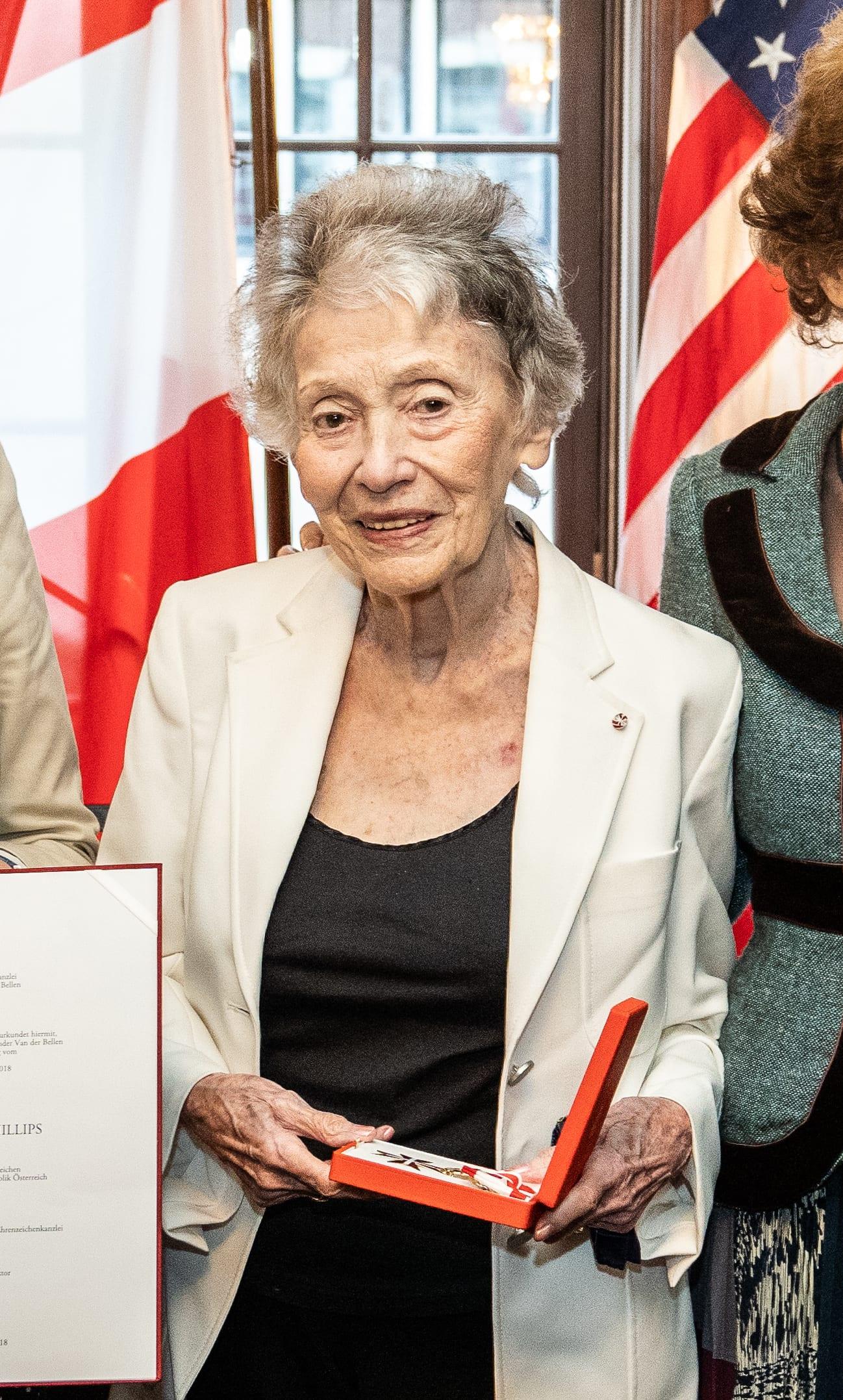 לילי רנה פיליפס (צילום: Bundesministerium für Europa, Integration und Äußeres)