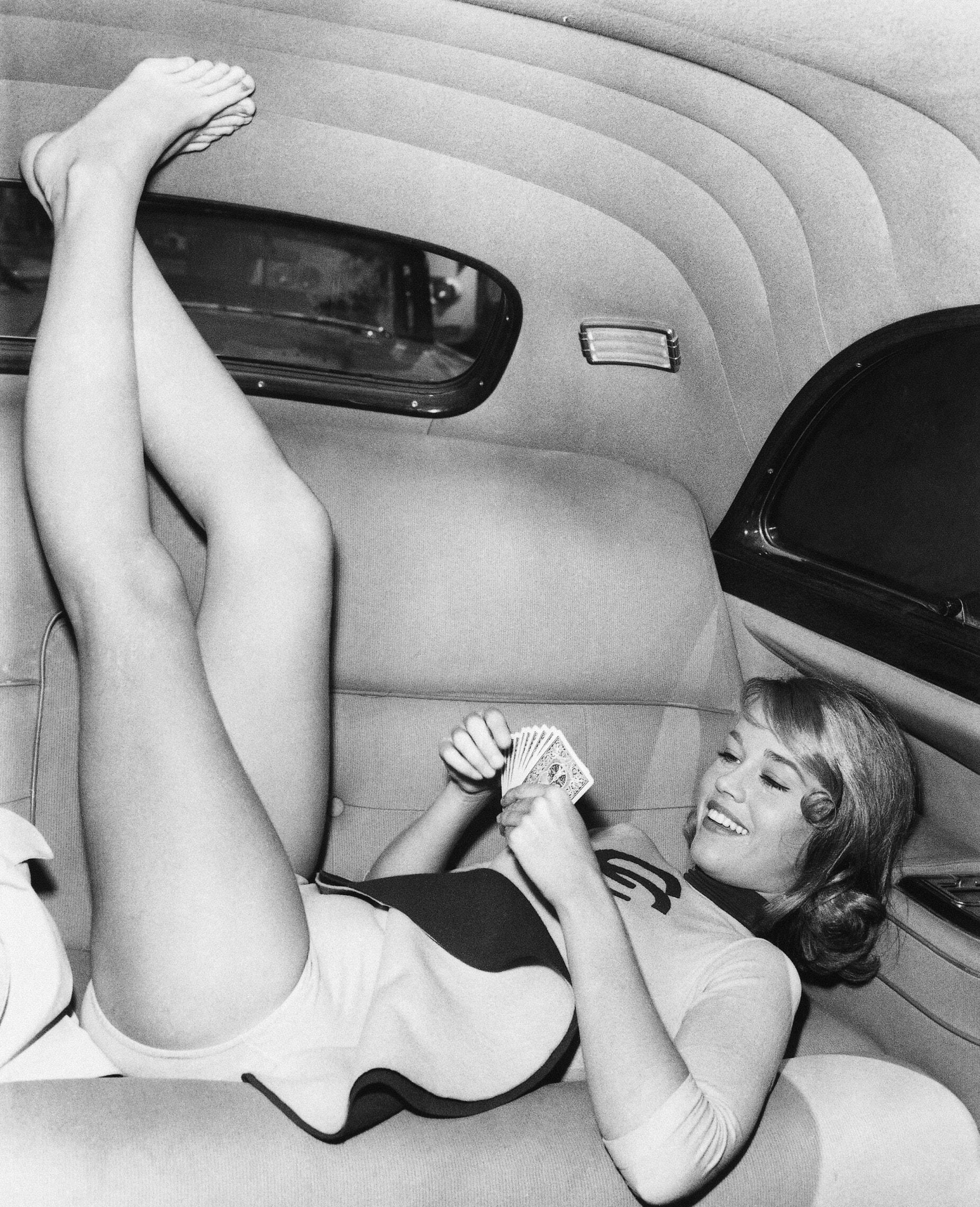 ג'יין פונדה ב-1959 (צילום: AP Photo)