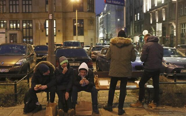 ורשה, 12 בדצמבר 2020 (צילום: Czarek Sokolowski, AP)