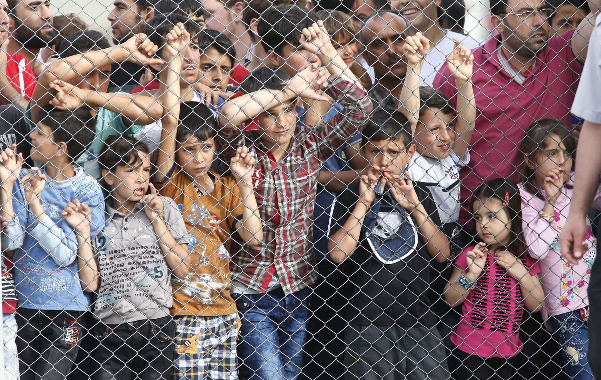 פליטים מסוריה במחנה פליטים בדרום טורקיה, אפריל 2016 (צילום: AP Photo/Lefteris Pitarakis)