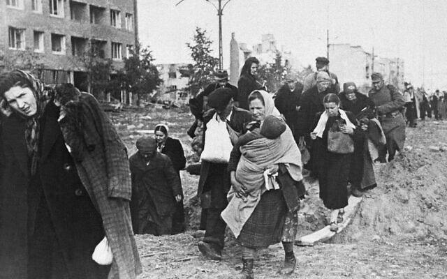 ורשה, 5 באוקטובר 1944 (צילום: AP)