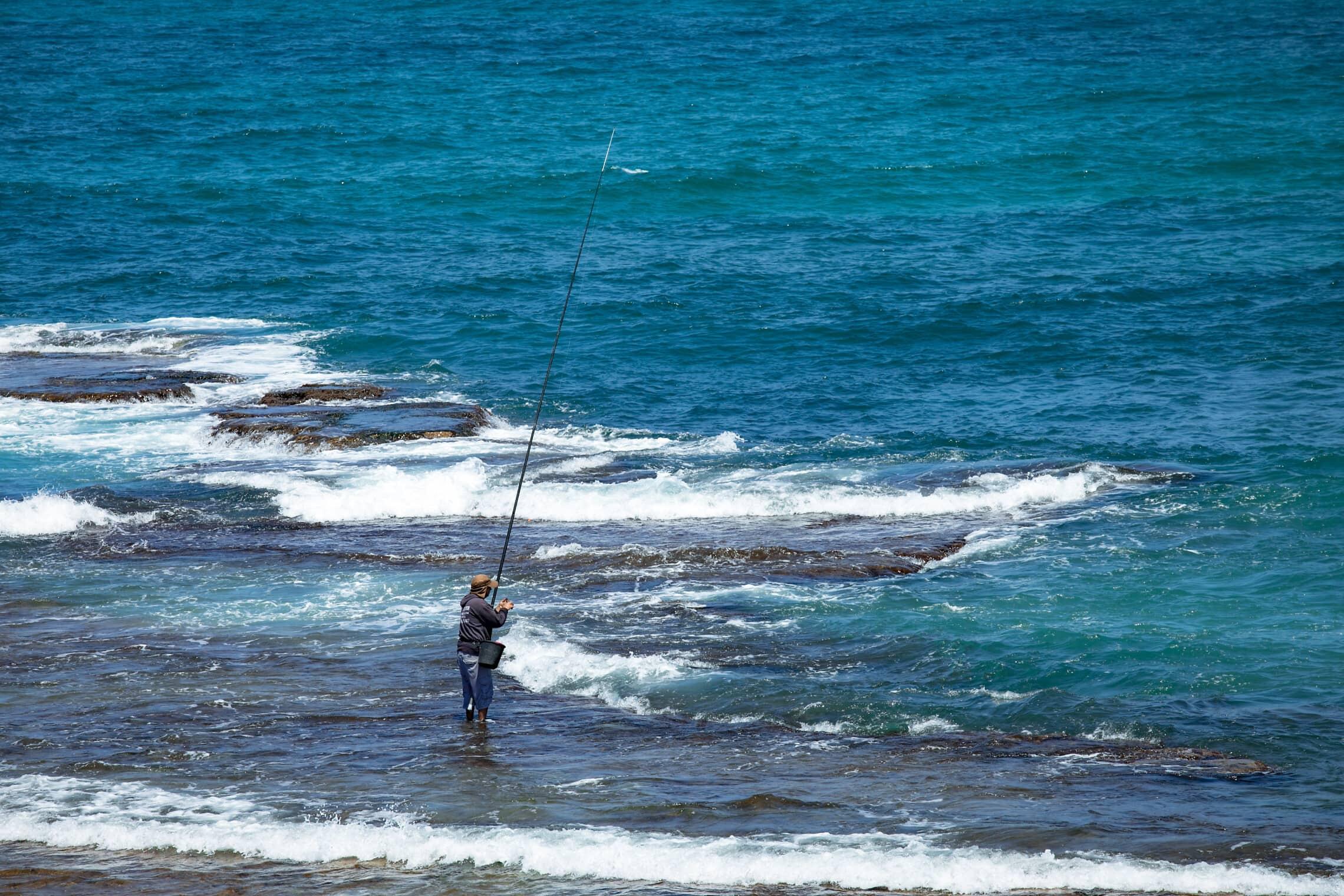 דייג בג'סר א-זרקא (ארכיון) (צילום: ענת חרמוני/פלאש90)