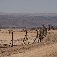 הגבול בין ישראל וירדן, 17 ביוני 2020 (צילום: יניב נדב, פלאש 90)