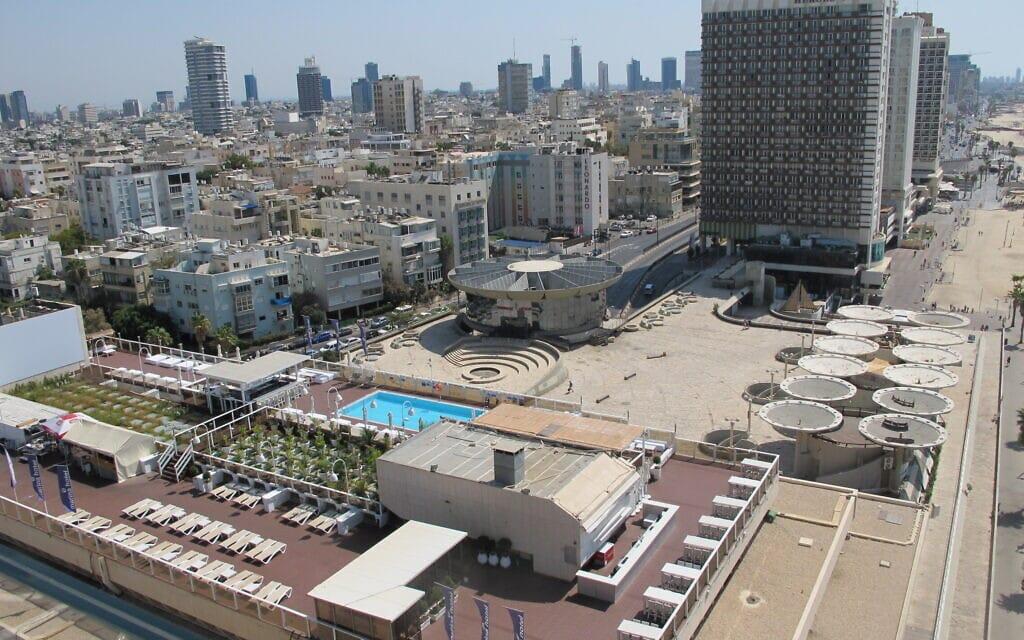 כיכר אתרים ב-2013 (צילום: מיכאל יעקובסון, ויקיפדיה)