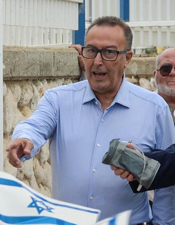 """ראש עיריית נתיבות יחיאל זוהר (צילום: מארק ניימן/לע""""מ)"""
