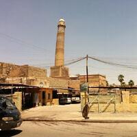 מקדש אל נורי במוסול, 2013 (צילום: Faisal Jeber, ויקיפדיה)