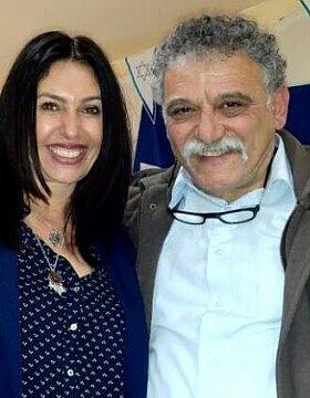 אורי זכריה ומירי רגב ב-2017 (צילום: פייסבוק)