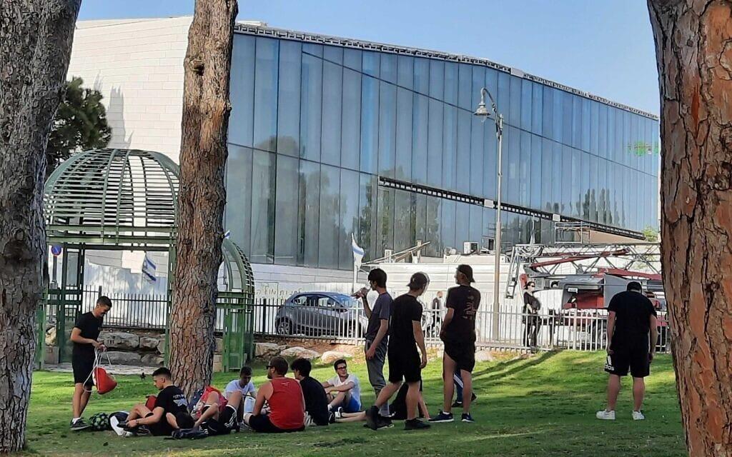 המוזאון לסובלנות בירושלים, אפריל 2021 (צילום: יהושע דוידוביץ)