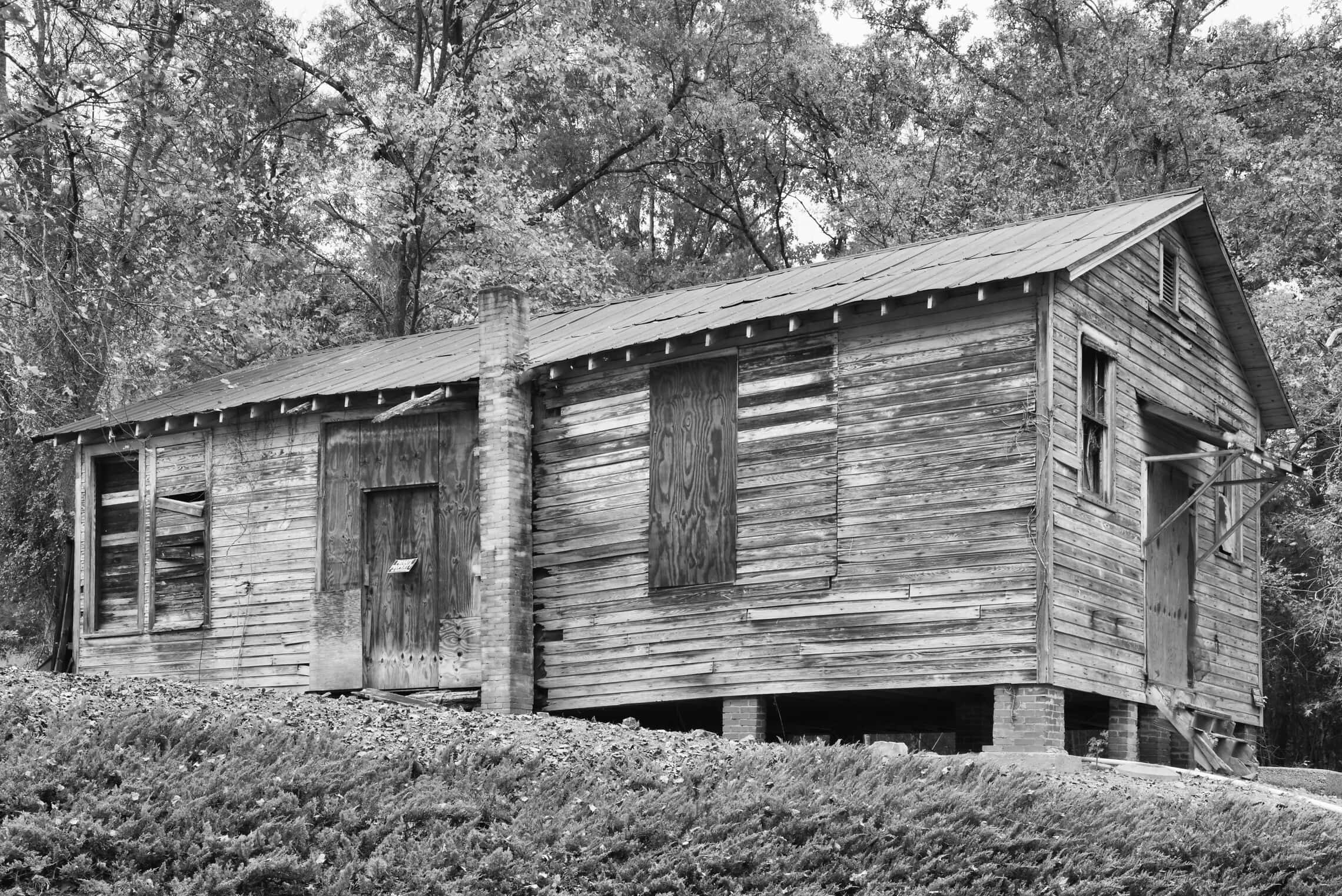בית ספר מפרויקט רוזנוולד במחוז מקלנברג, צפון קרולינה (צילום: אנדרו פיילר)