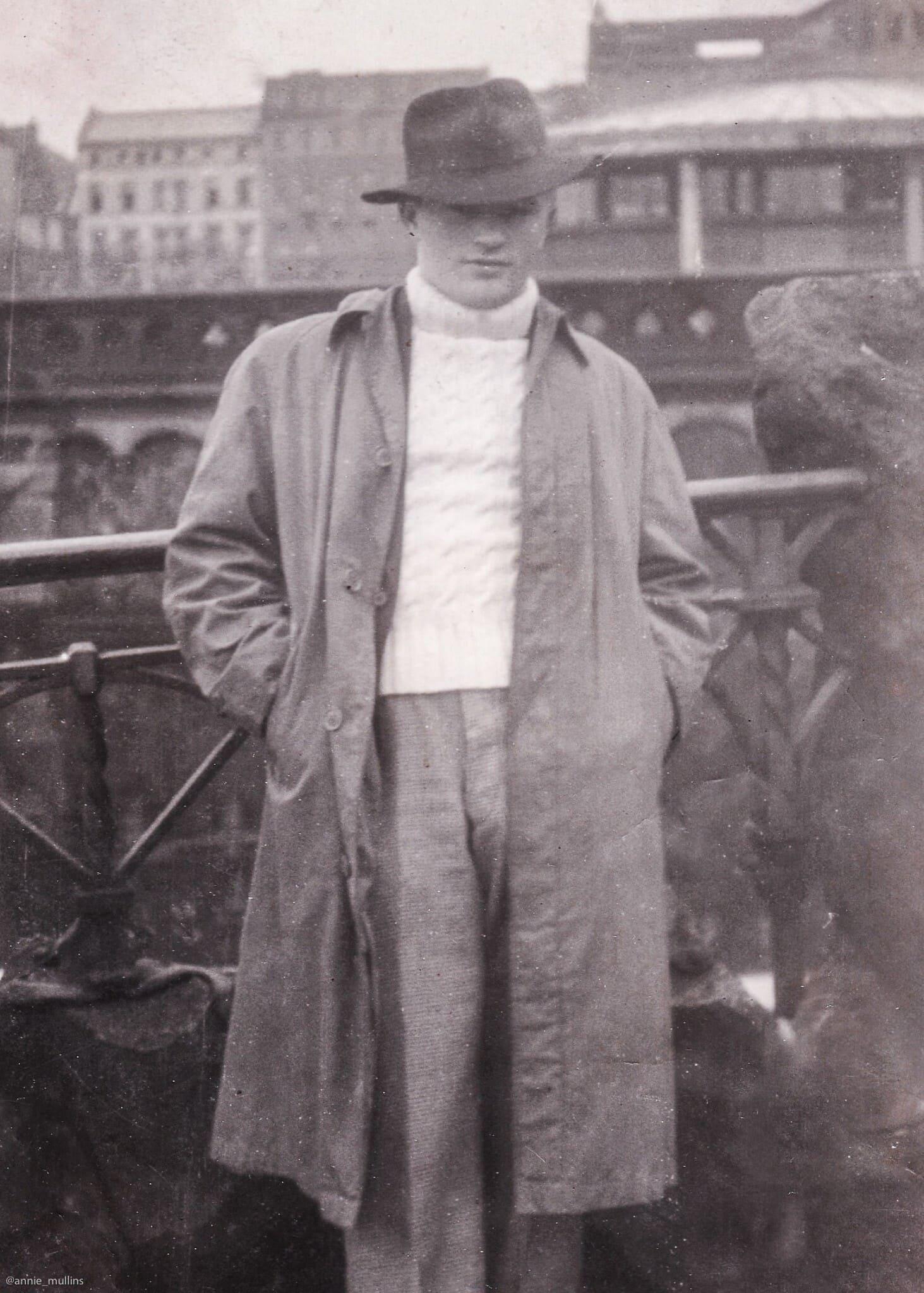 חיים הירשמן (הנרי קאר) בגרמניה ב-1946 (צילום: באדיבות ג'ון קאר)