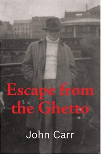 """עטיפת הספר """"הבריחה מהגטו"""""""