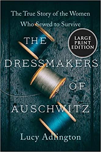 """עטיפת הספר """"התופרות של אושוויץ"""""""