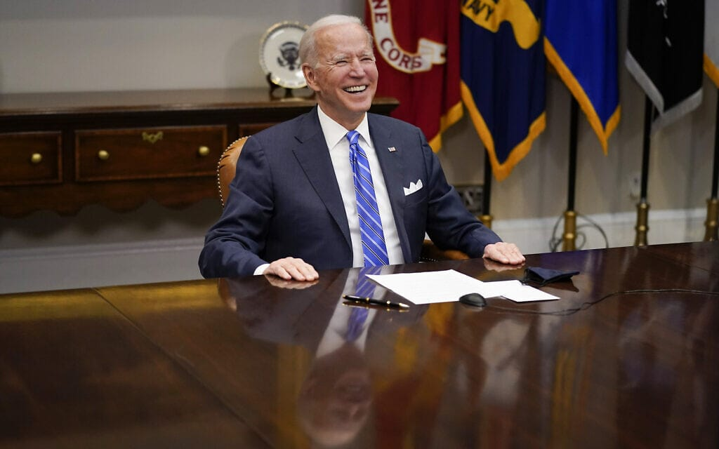 ג'ו ביידן (צילום: AP Photo/Andrew Harnik)