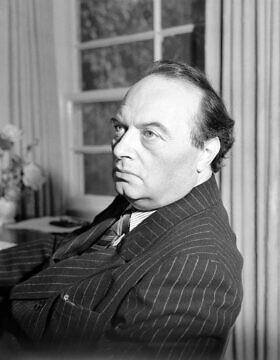 פרנץ ורפל, 30 באוקטובר 1942 (צילום: Bob Wands, AP)