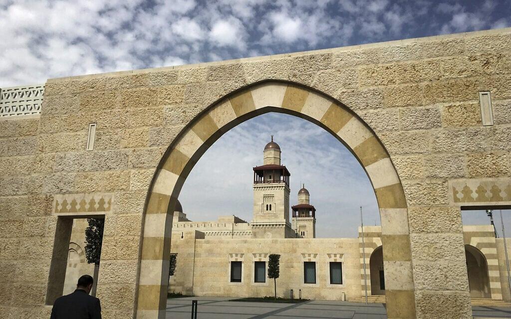 הארמון של המלך עבדאללה בעמאן, ירדן (צילום: Carlo Allegri/Pool Photo via AP)