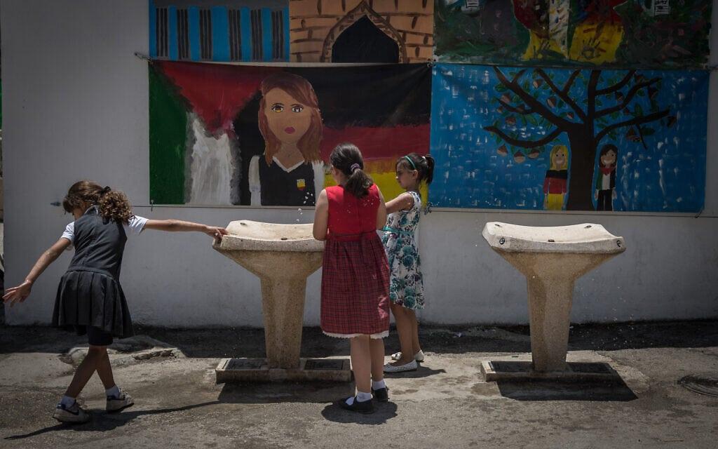 בית ספר במזרח ירושלים (צילום: הדס פרוש/פלאש90)
