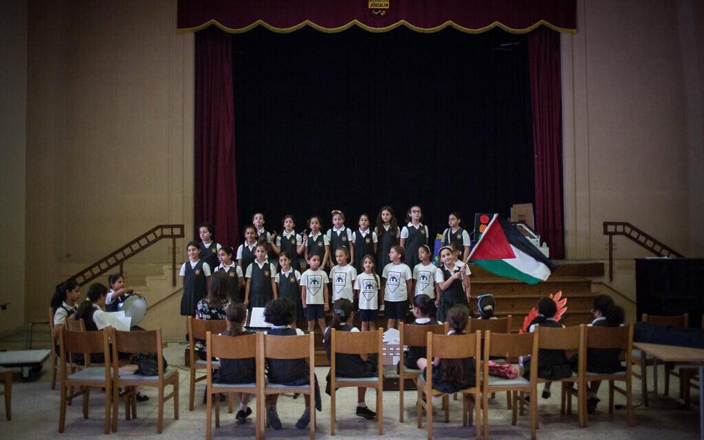 בית ספר לנערות פלסטיניות במזרח ירושלים (צילום: הדס פרוש/פלאש90)