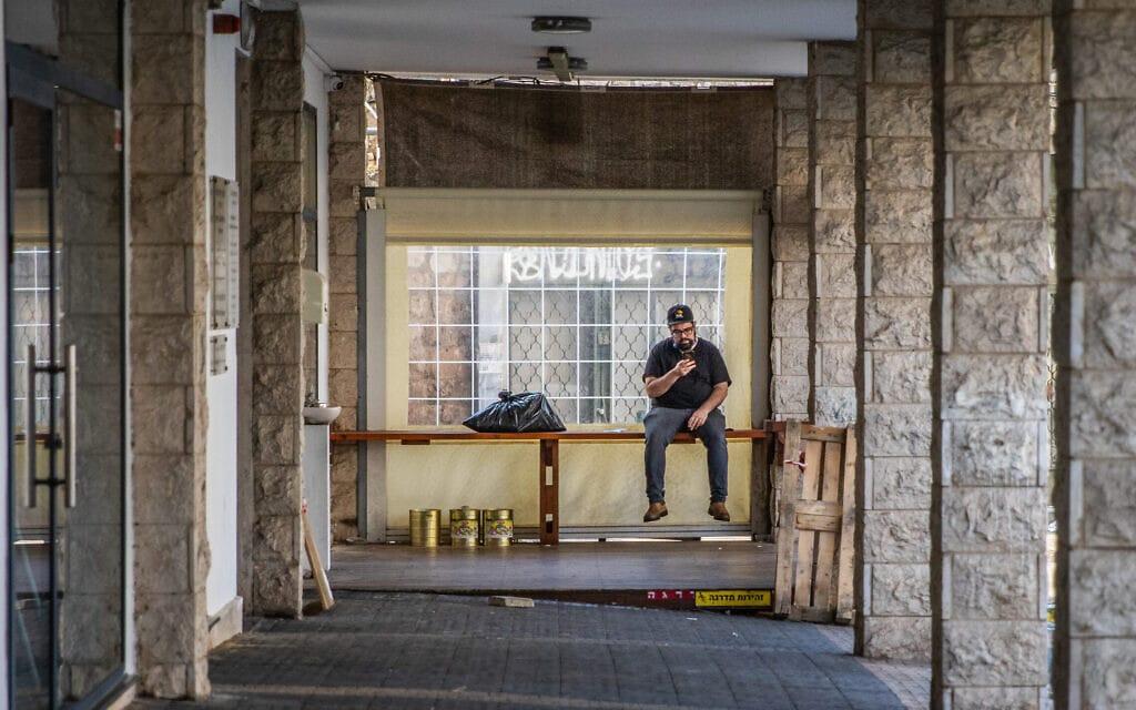 שכונת הדר בחיפה (צילום: שיר רותם/פלאש90)
