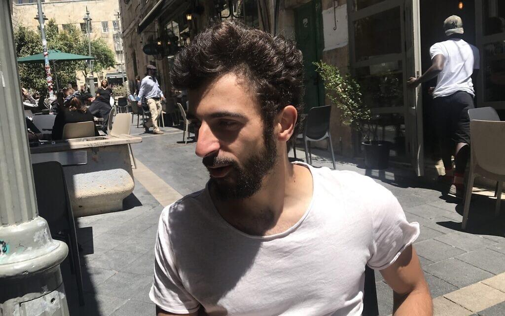 יובל אברהם בירושלים, 26 באפריל 2021 (צילום: אמיר בן-דוד)