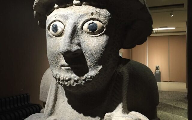 "SUPPILULIUMA, מלך פלסטין המקראית, 860 לפנה""ס, תל תעינת (צילום: ויקיפדיה, מוזיאון ארכיאולוגי התאי, אנטקיה)"