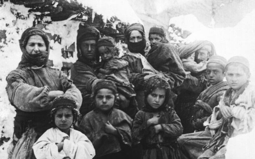 אלפי ילדים ארמנים נרצחו על ידי הכוחות העות'מאנים-טורקים בג'נוסייד שהתרחש במהלך מלחמת העולם הראשונה (צילום: רשות הציבור)