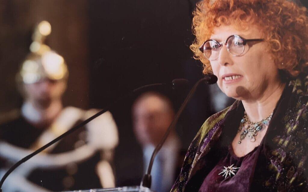 לינדה לאורה סבדיני (צילום: Italian President's Office)