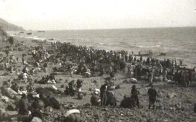 כ-4,200 ארמנים חולצו ממוסא דאג על ידי חיל הים הצרפתי ב-1915 (צילום: רשות הציבור)