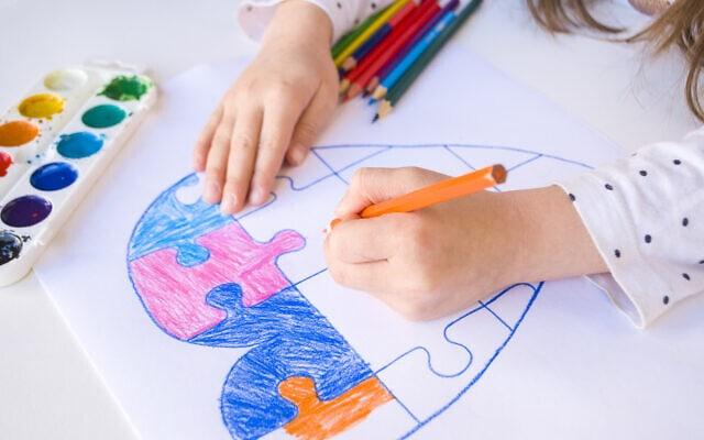 אוטיזם, אילוסטרציה (צילום: Kateryna Medetbayeva / iStock)