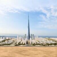 אחד המגה-פרוייקטים המתוכננים של ערב הסעודית, צילום מסך מתוך צילום מסך מסרטון הדמייה של: Top Luxury