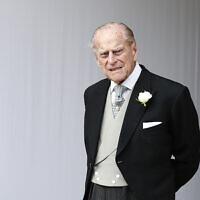 הנסיך פיליפ ב-2018 (צילום: AP Photo/Alastair Grant, Pool)