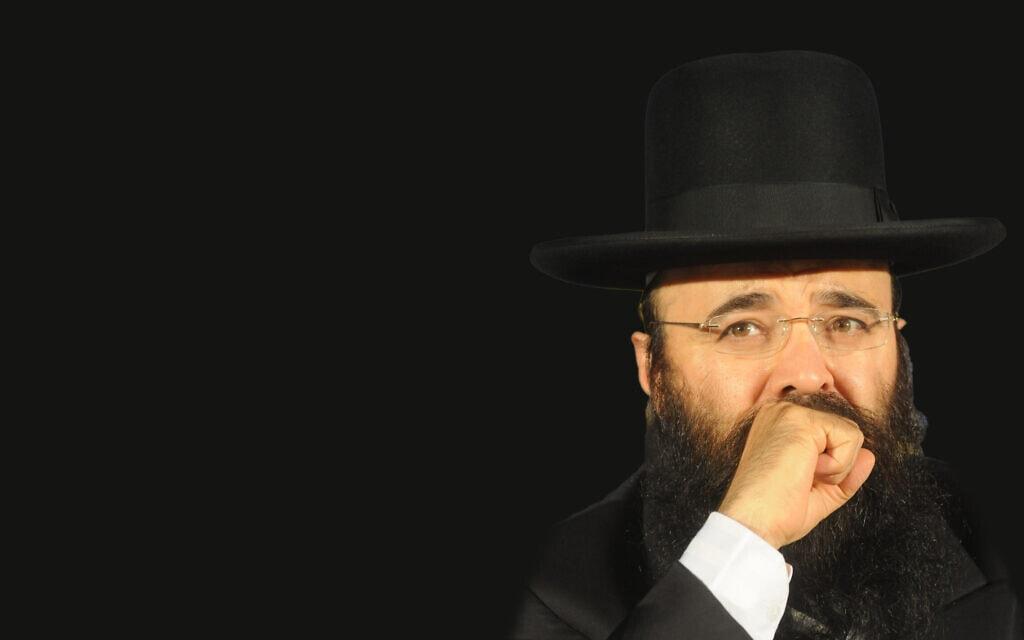 הרב הרנטגן יעקב ישראל איפרגן (צילום: פלאש90, עיבוד מחשב)