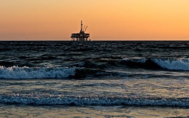 אסדת שאיבת גז, אילוסטרציה (צילום: פיקסה-ביי)