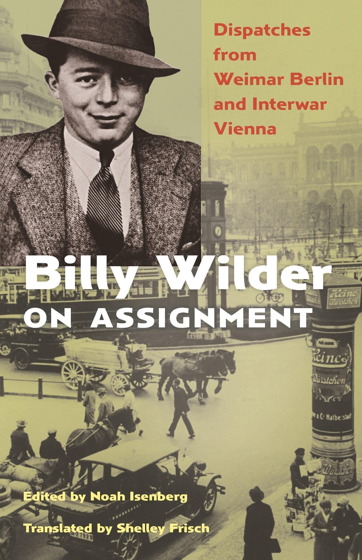 """עטיפת הספר """"בילי ויילדר מדווח"""""""