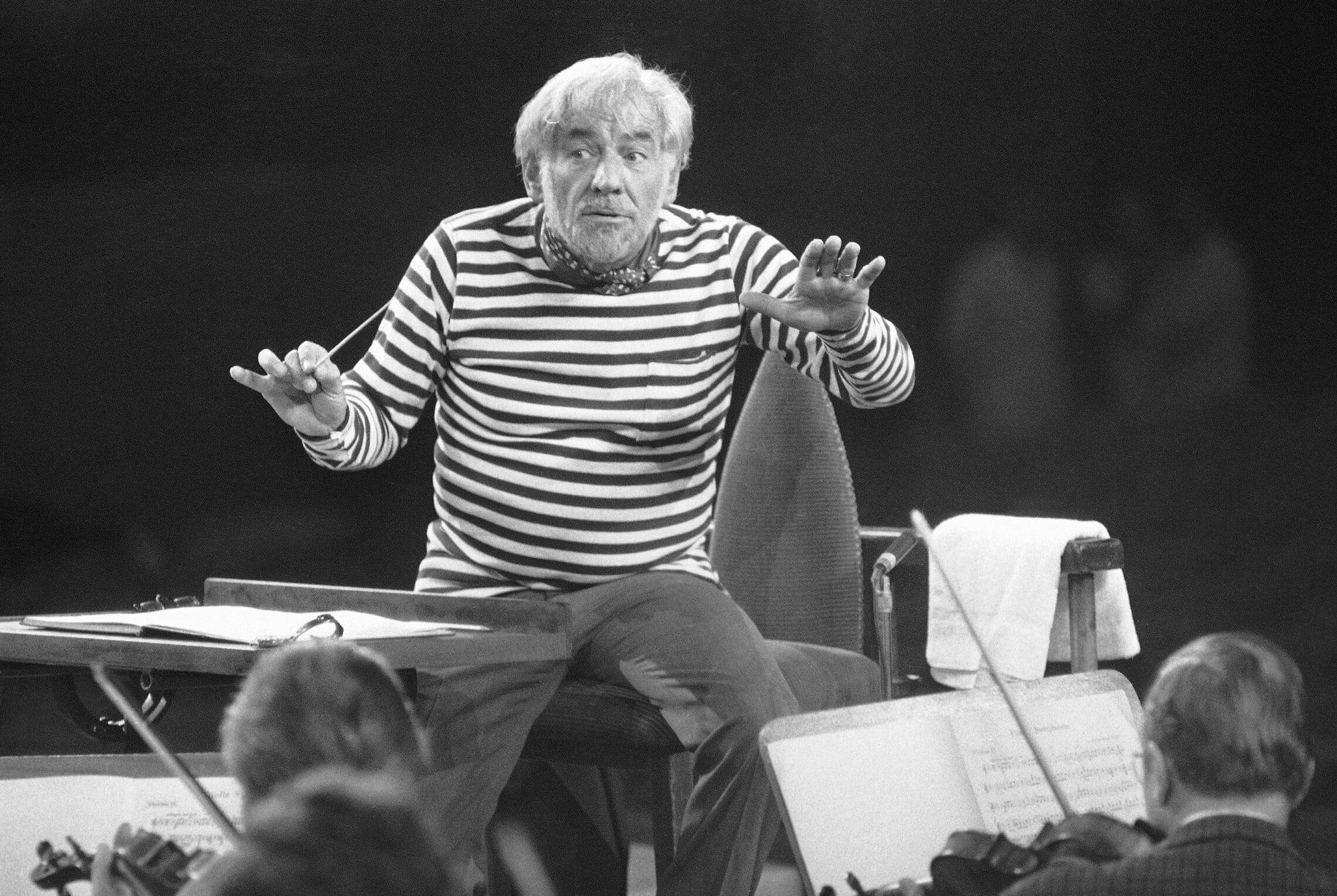 לאונרד ברנשטיין ב-1976. הרוקסטאר של המוזיקה הקלאסית (צילום: AP Photo/Dieter EndlicherAP Photo/Dieter Endlicher)