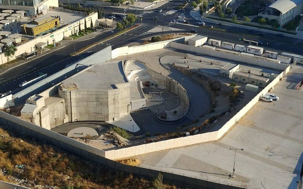 פרויקט אלמוג בשלבי בנייה, נכון ליולי 2020 (צילום: אלון איזנמן)