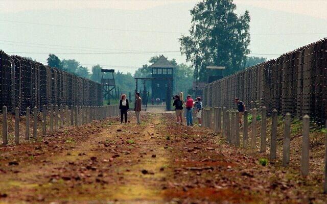 """צילומי הסרט """"הימים האחרונים"""" באושוויץ-בירקנאו"""