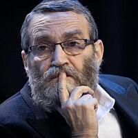 משה גפני (צילום: יונתן זינדל/פלאש90)