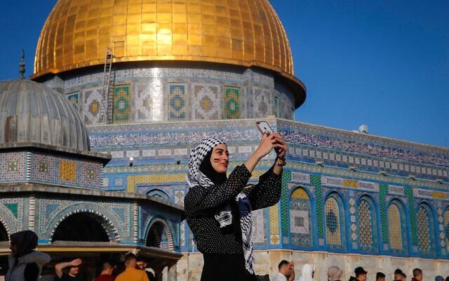 אל אקצא, מזרח ירושלים, 13 במאי 2021 (צילום: Jamal Awad/Flash90.)